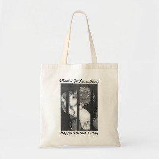 Happy Mother's Day Mom Fixes Everything Tote Bags