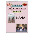 Happy Mother's Day Nana! Card