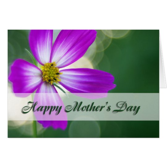 Happy Mother's Day - Pink Cosmos Card