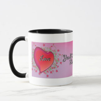 Happy Mother's Day Pink Floral Coffee Mug