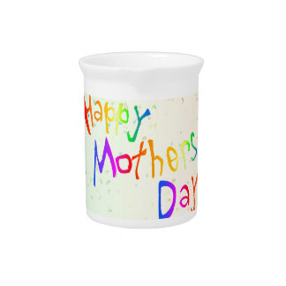 Happy Mothers Day Pitcher