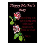 Happy Mother's Day Poem Greeting Card