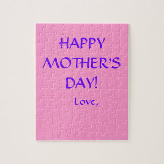 """Happy Mother's Day"" Puzzle"