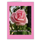 """""""Happy Mother's Day Rose"""" Card"""
