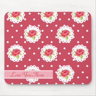 Happy Mother's Day Roses Mouse Pad