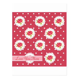 Happy Mother's Day Roses Postcard