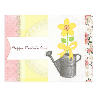 Happy Mother's Day - Scrapbook-Themed Post Card