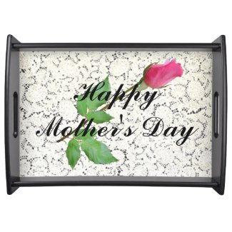 HAPPY MOTHER'S DAY-SERVING TRAY SERVING TRAYS