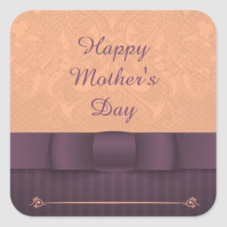 Happy Mother's Day Square Sticker