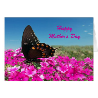 Happy Mother's Day, Swallowtail Butterfly Greeting Card