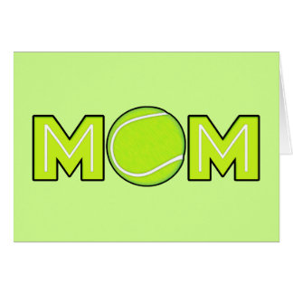 Happy Mother's Day Tennis Mom Greeting Card