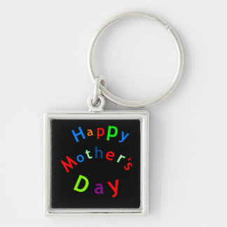 Happy Mothers Day Text Key Chain