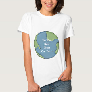 Happy Mothers Day to the Best MOM on Earth Tshirt