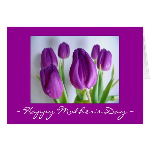 Happy Mother's Day Tulip Card
