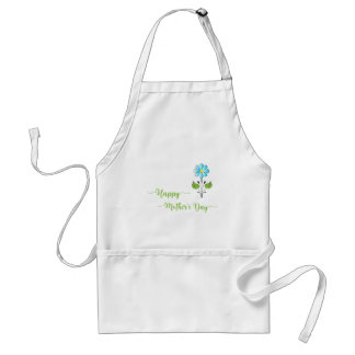 Happy-Mothers-with Flower Unique Standard Apron