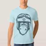 Happy Moto Monkey (vintage slate) Shirts