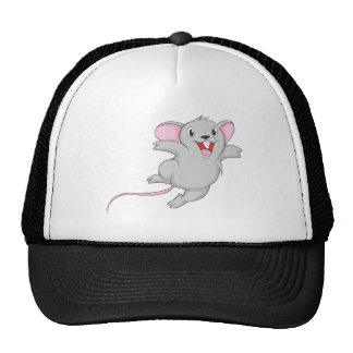 Happy Mouse Mesh Hats