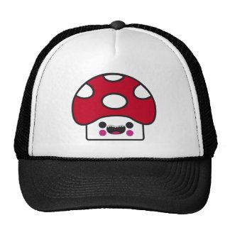 Happy Mushroom Mesh Hats