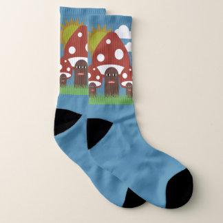Happy Mushrooms Socks 1