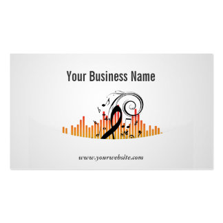 Happy Music Lessons Business Card