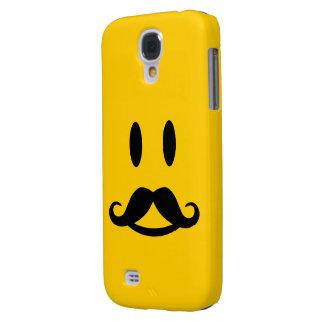 Happy Mustache Smiley custom HTC case