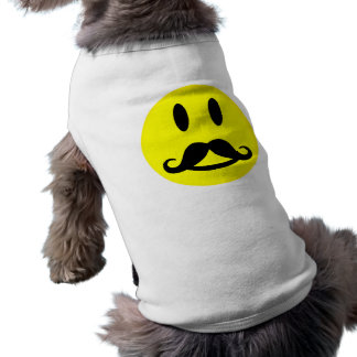 Happy Mustache Smiley pet clothing