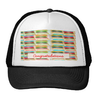 Happy n Vibrant Colorful Life - Editable Text Trucker Hat