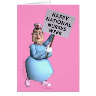 Happy National Nurses Week! Greeting Card