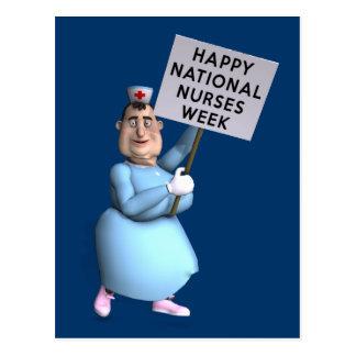 Happy National Nurses Week! Postcard