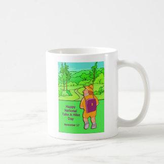 Happy National Take A Hike Day November 17 Mug