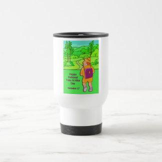 Happy National Take A Hike Day November 17 Coffee Mugs