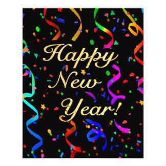 """Happy New Year!"" 11.5 Cm X 14 Cm Flyer"