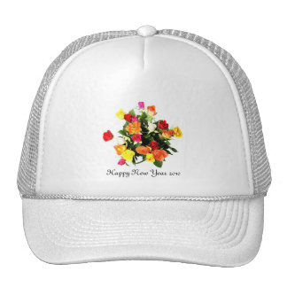 Happy New Year 2010 Mesh Hats