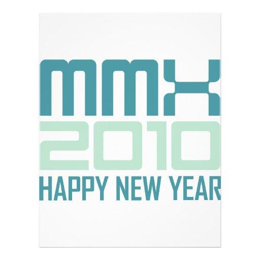 Happy New Year 2010 (MMX) Flyers