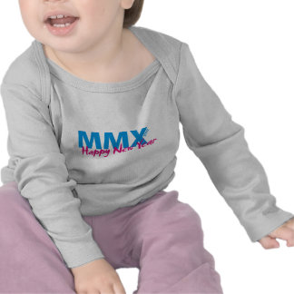 Happy New Year 2010 (MMX) T-shirt