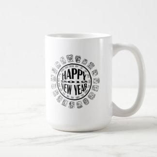 happy new year 2012 basic white mug