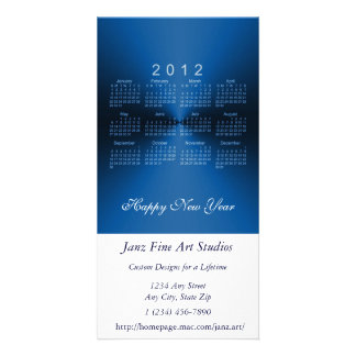 Happy New Year 2012 Calendar Picture Card