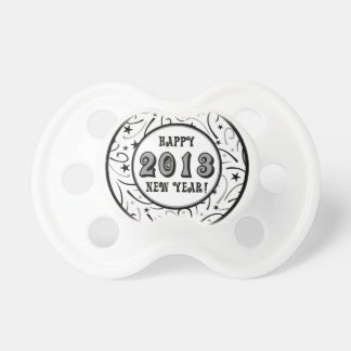 Happy New Year 2013 Pacifiers