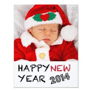 Happy New Year 2013 Photo Card 11 Cm X 14 Cm Invitation Card