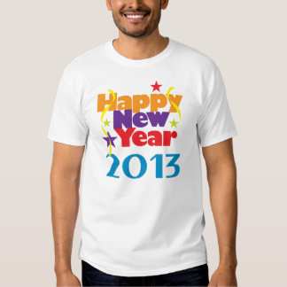 Happy New Year 2013 Shirt