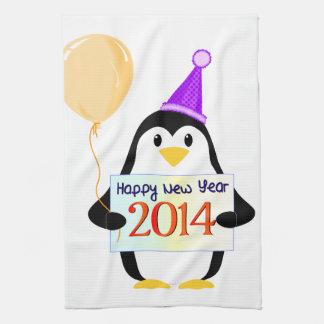Happy New Year 2014 Hand Towel