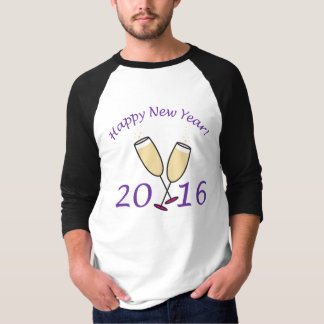 Happy New Year 2016 Champagne Toast T-Shirt