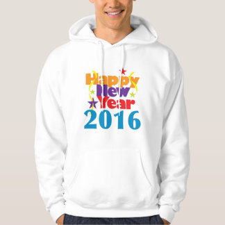 Happy New Year 2016 Hooded Pullovers
