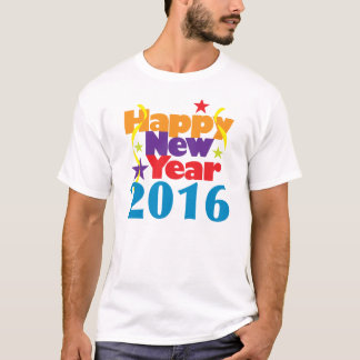 Happy New Year 2016 T-Shirt