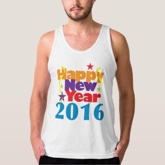 Happy New Year 2016 Tanktop