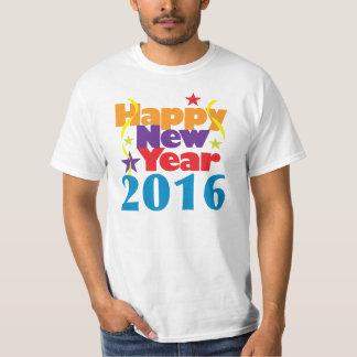 Happy New Year 2016 Tee Shirt