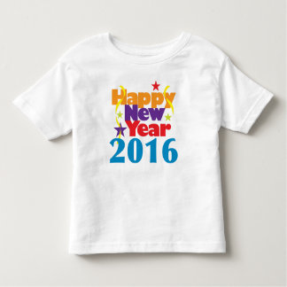 Happy New Year 2016 Toddler T-Shirt