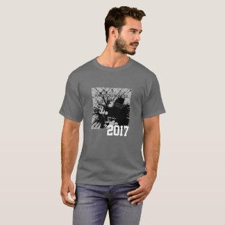 Happy New Year 2017  Graphic Tee Shirt