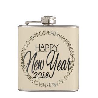 Happy New Year 20XX Hip Flask