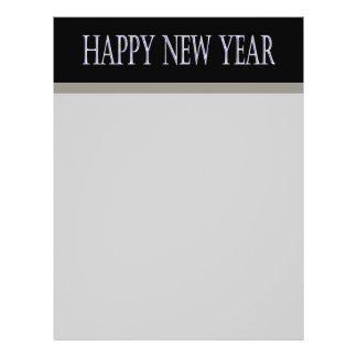 happy new year 21.5 cm x 28 cm flyer